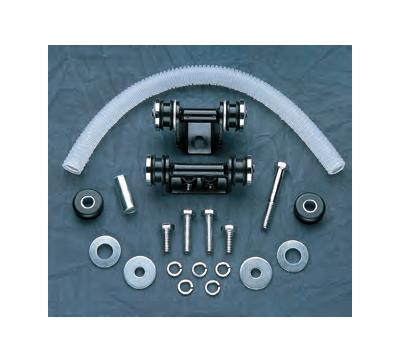 Drag Specialties Custom Bolt Kit for Flatside Tanks #DS-391357