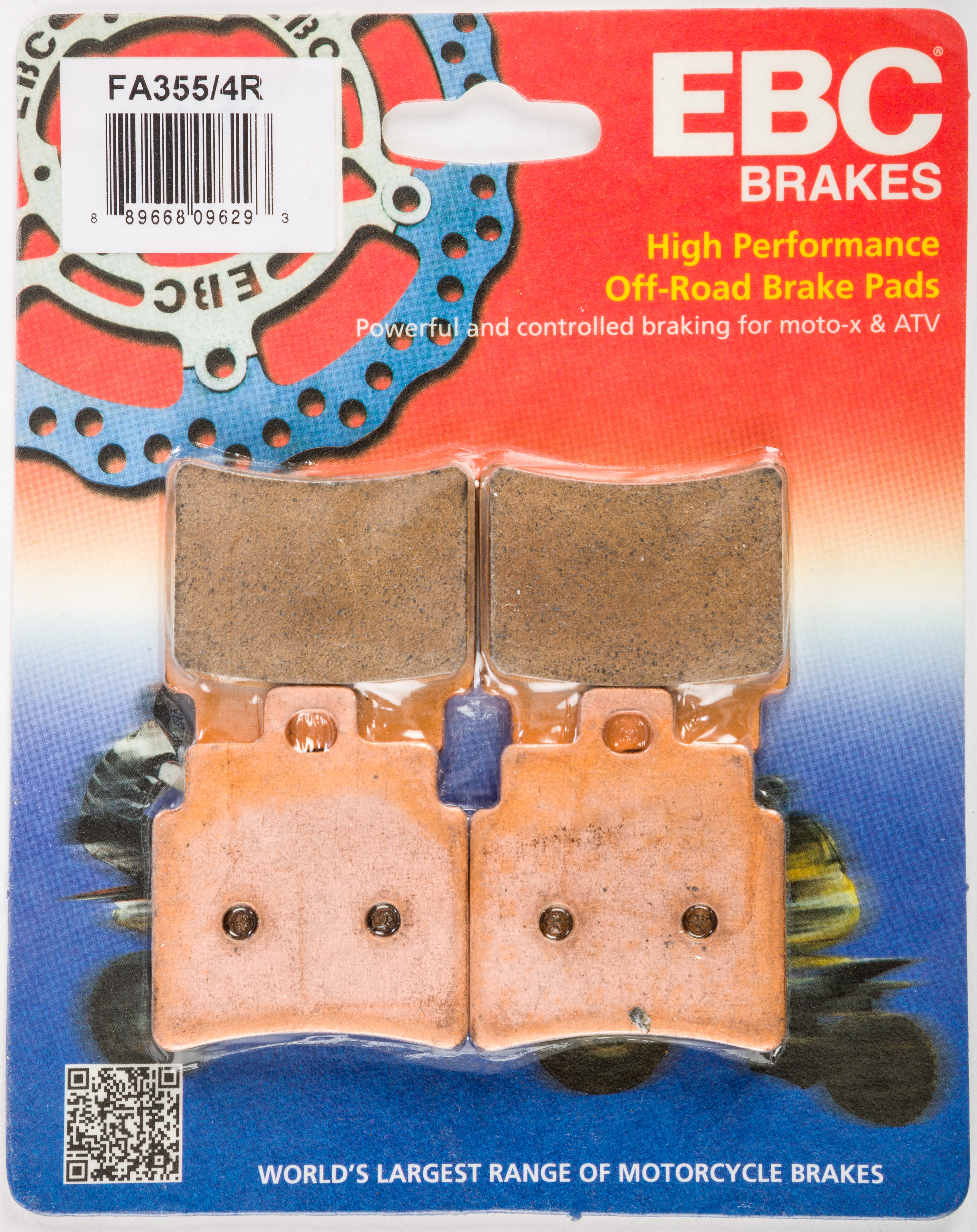 EBC SXR BRAKE PADS SXR677HH