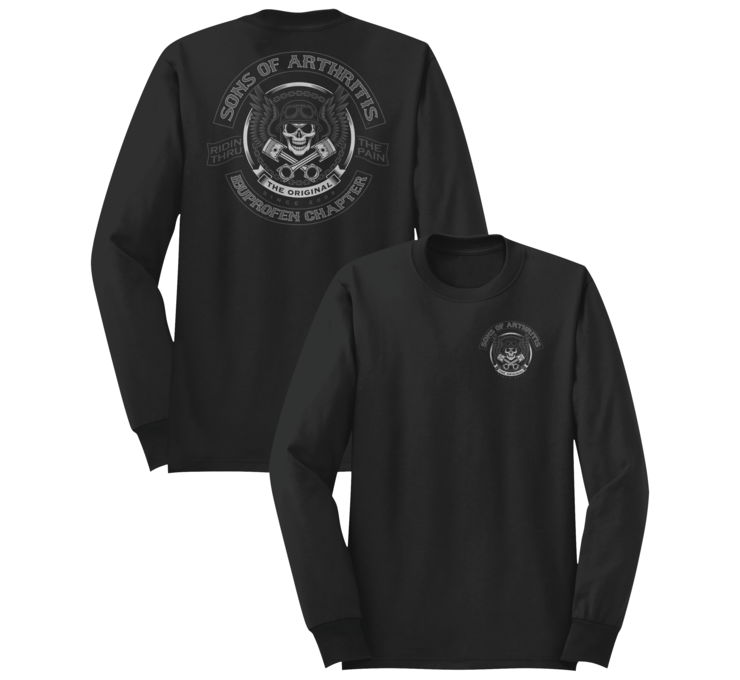 American Classics Apparel Men's SOA Original Long Sleeve Tee