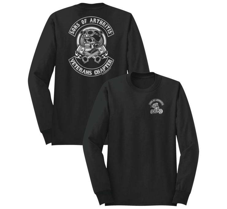 American Classics Apparel Men's SOA Veterans Chapter Long Sleeve Tee