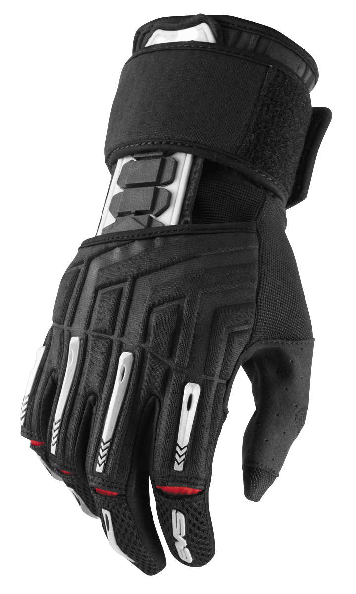 EVS Sports Wrister 2.0 Gloves Black, Medium
