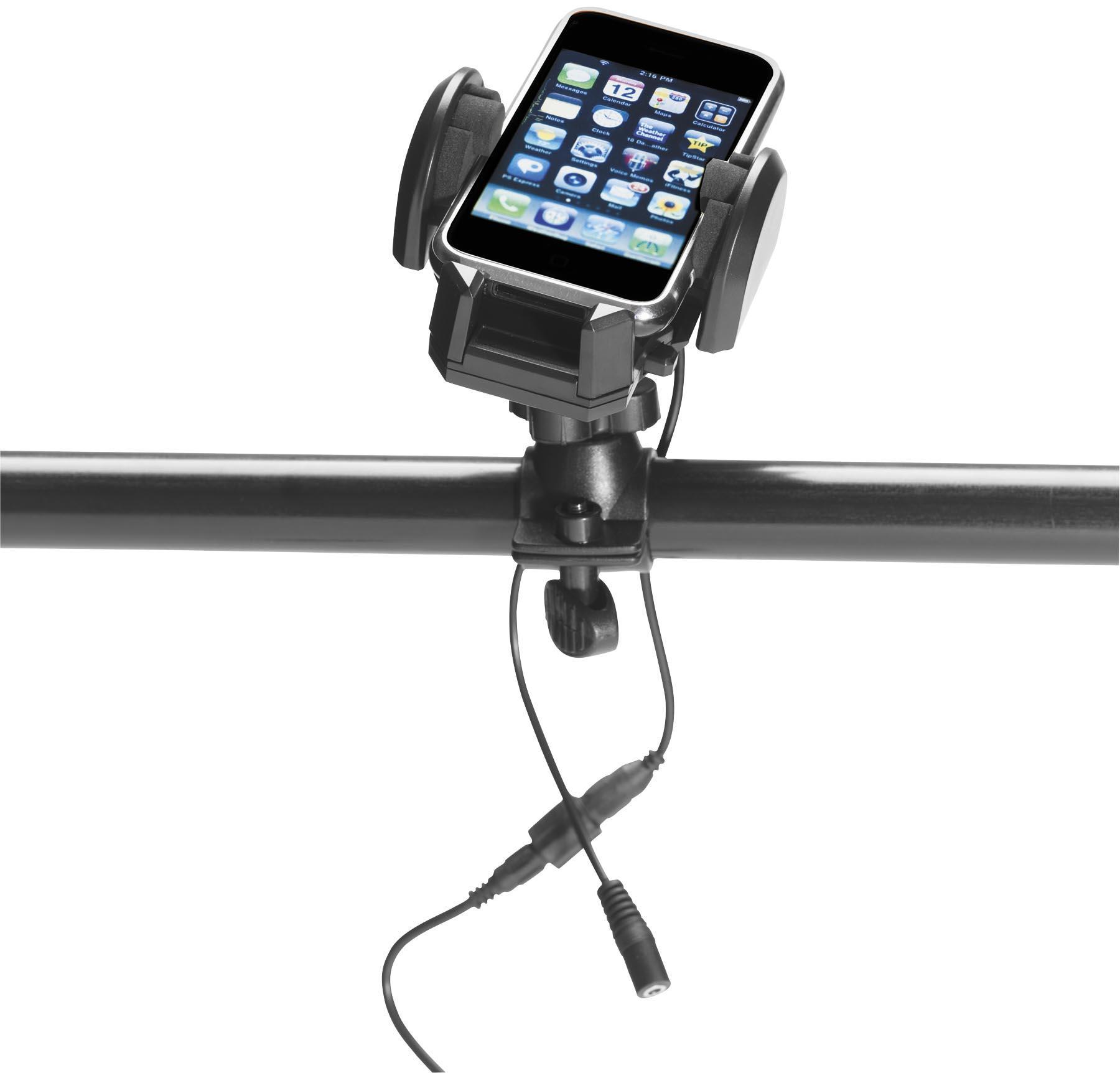 Plug & Go Handlebar Phone Holder and Charger