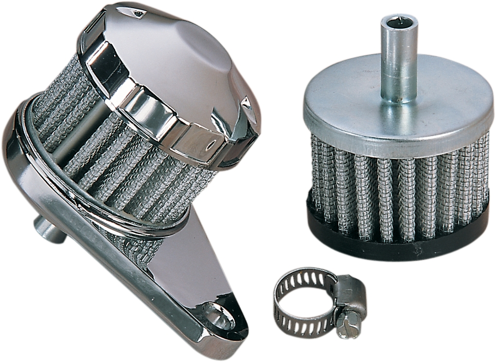 Rubber-Top Crankcase Filter