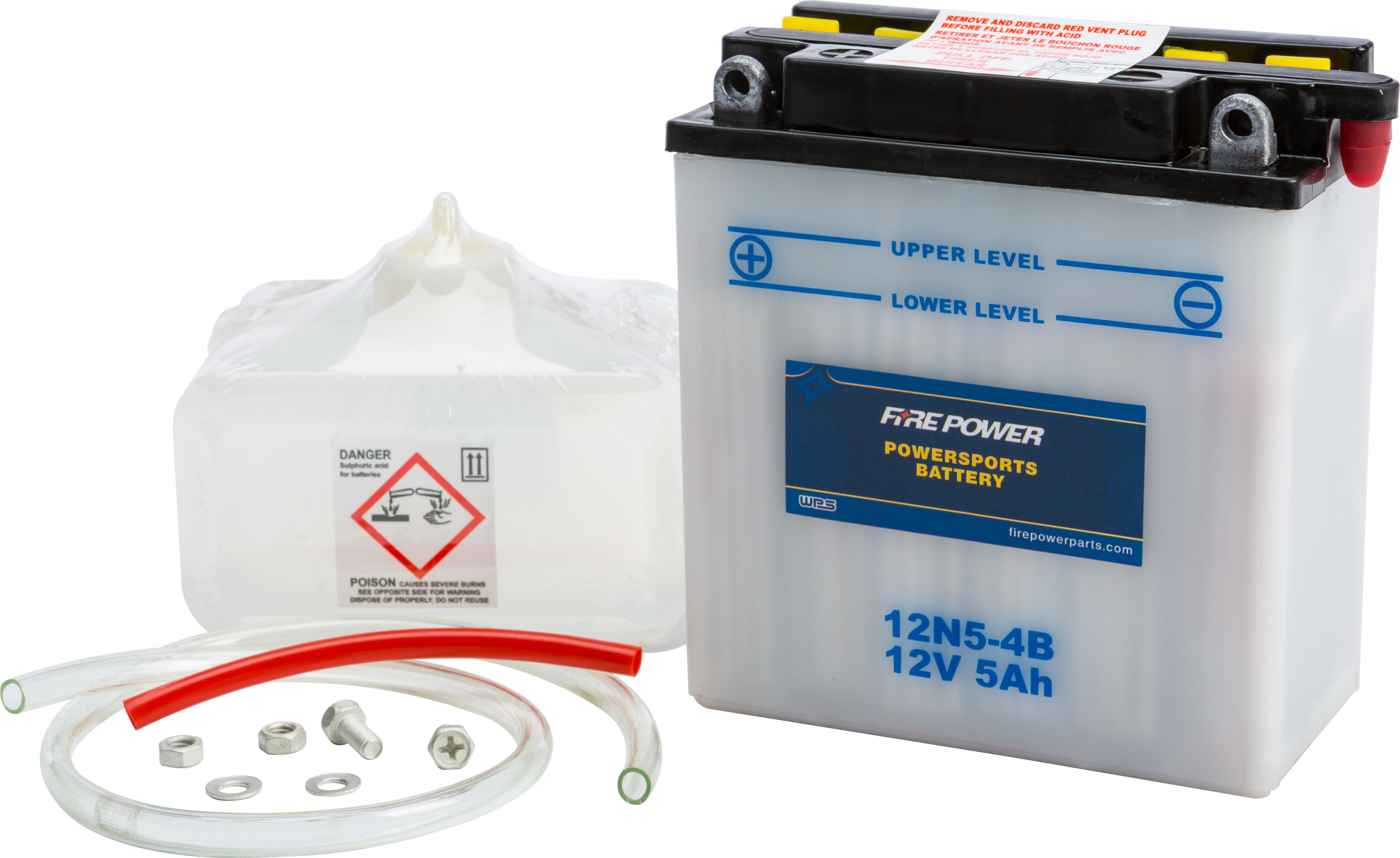 12V Standard Battery