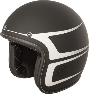 .38 Scallop Open Face Helmet