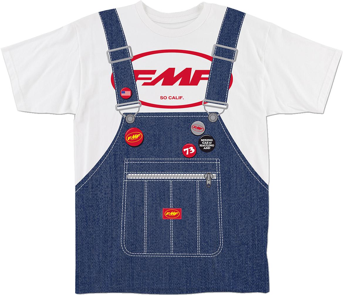 FMF Dash Long Sleeve T-Shirt BLACK LARGE
