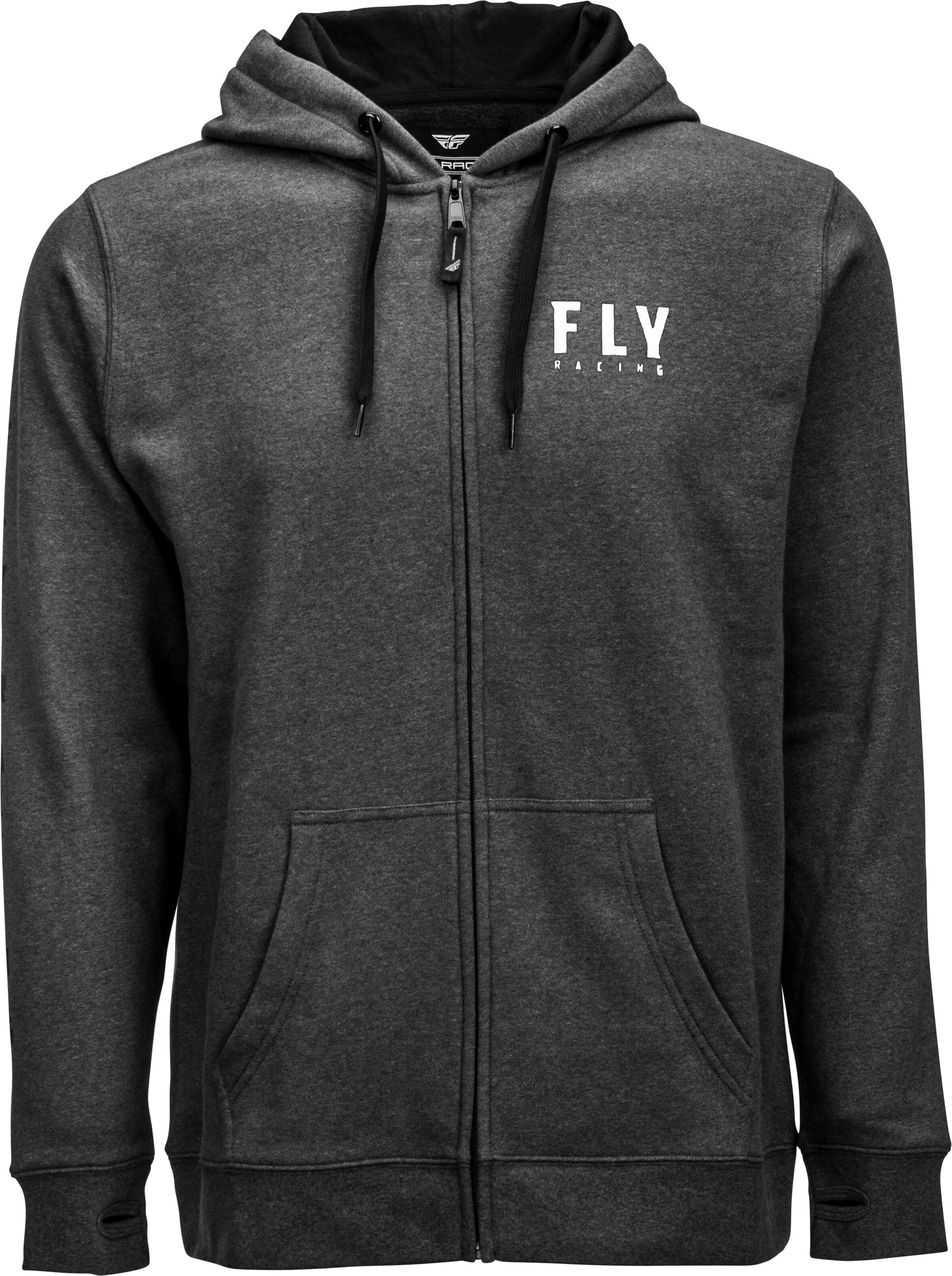 Military Green Fly Racing Crest Hoody X-Large