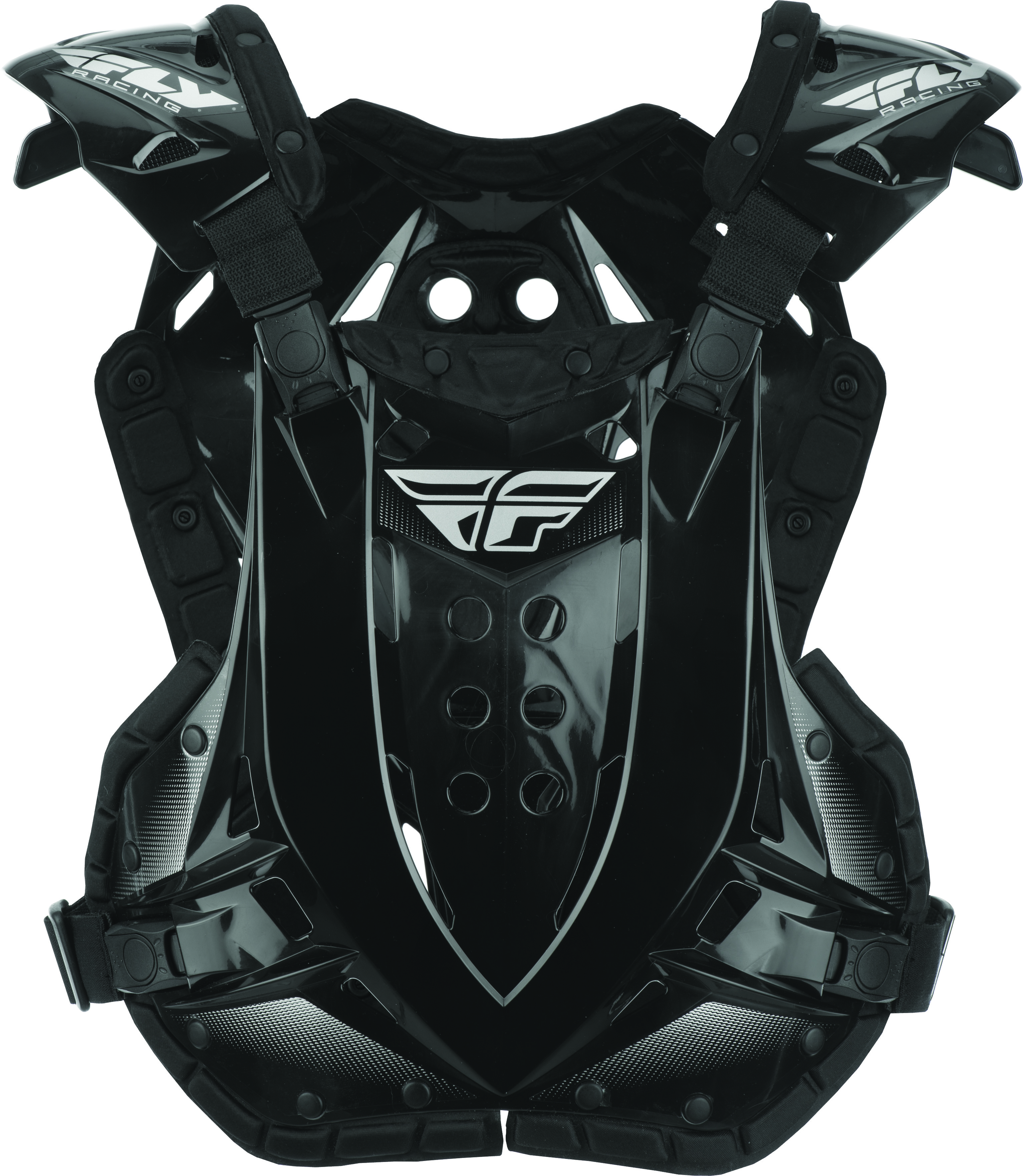 Fly Racing Stingray Roost Guard Black, OSFM