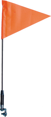 SPRING MOUNTSAFETY FLAG TELESCOPING S//S COUNTRY ENT