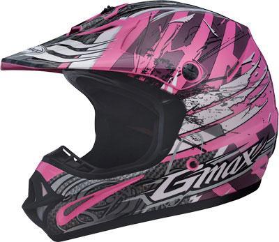 Gmax Visor For Gm46x Helmet Shredder Pink White Md 3xl Ebay