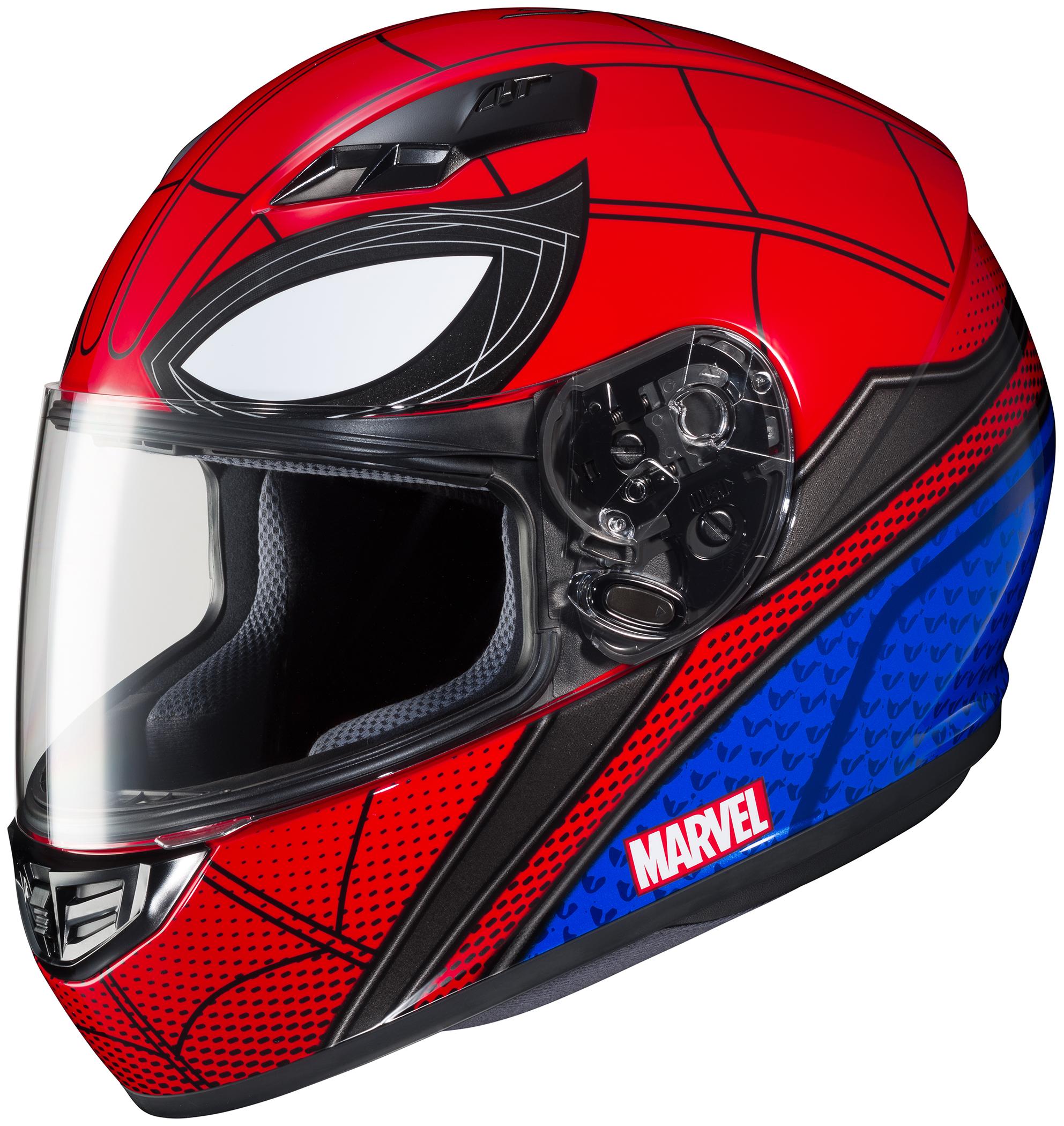 HJC CS-R3 Spiderman Helmet LRG 0856-1301-06