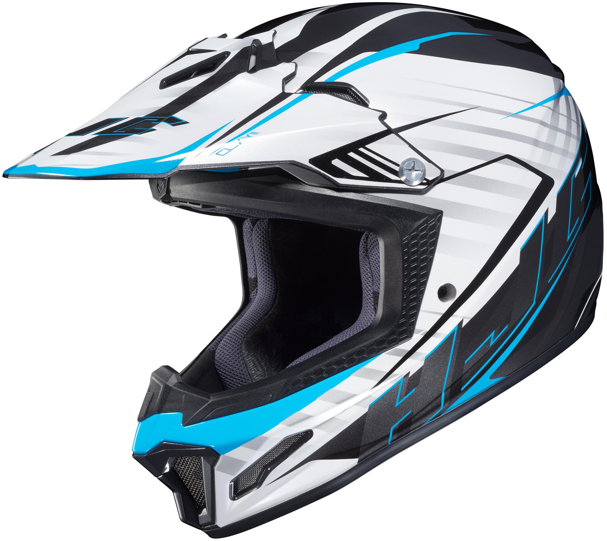 HJC Youth CL-XY 2 Blaze Graphic Off-Road Helmet   G&S Suzuki