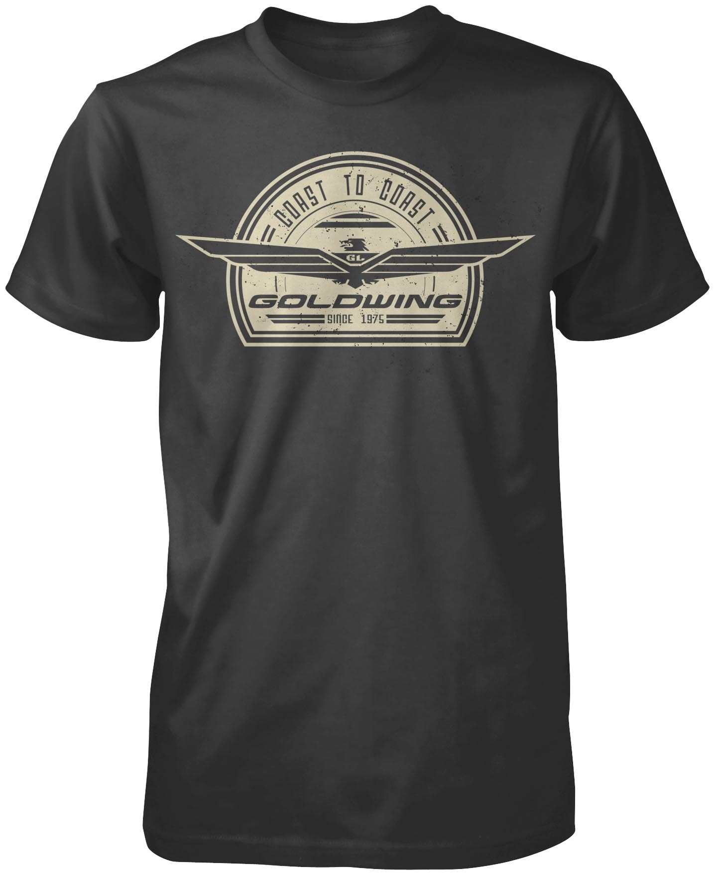 Gold Wing Retro Short Sleeve Tee