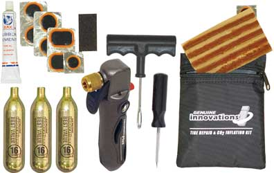 Tire Repair and Inflation Kit