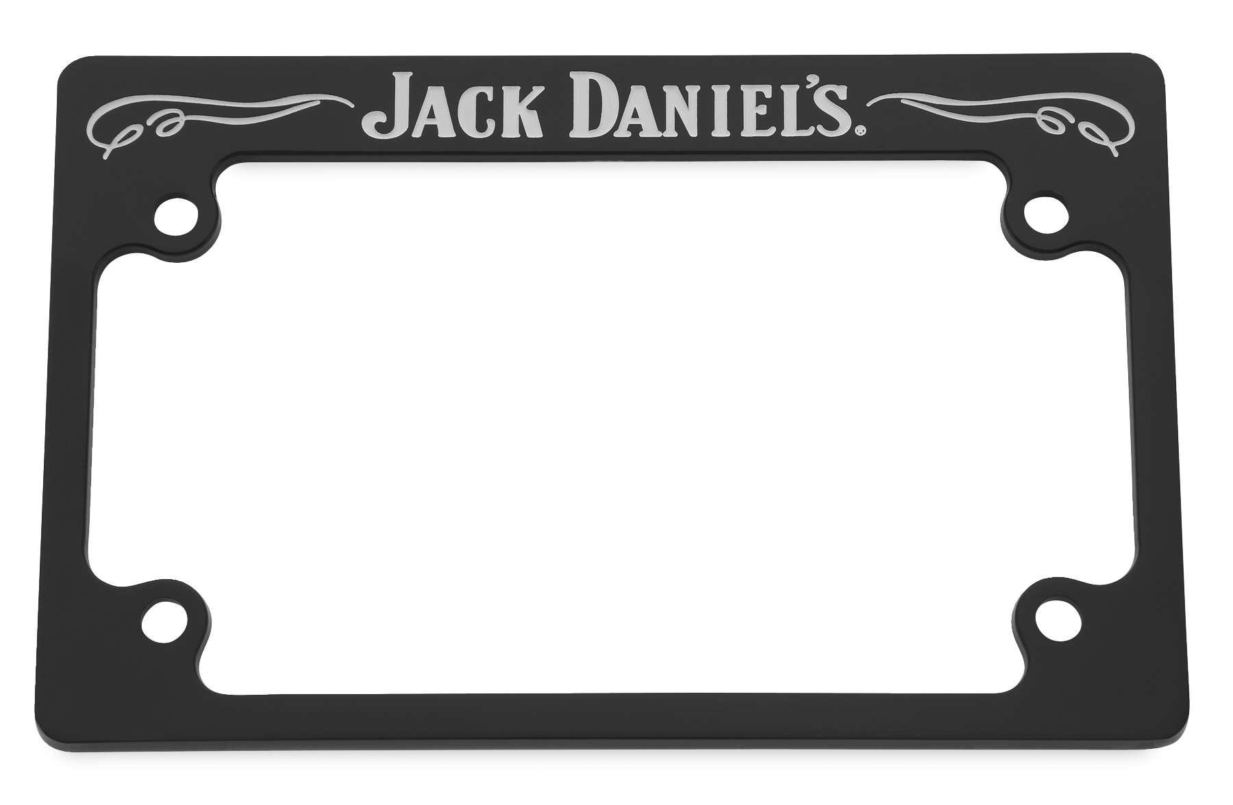 Script License Plate Frames