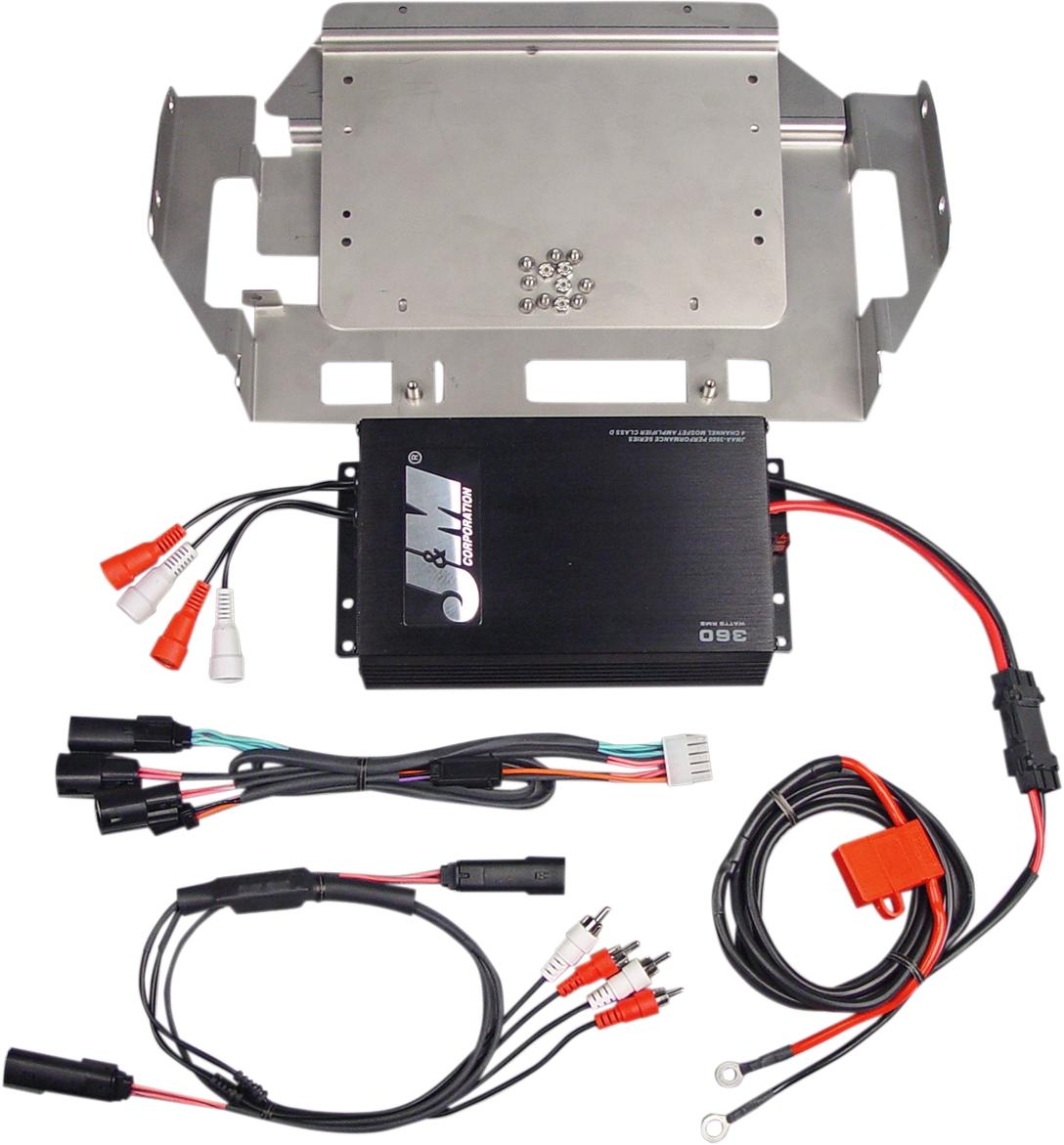 Performance Series 360W Four-Channel Amplifier Kit