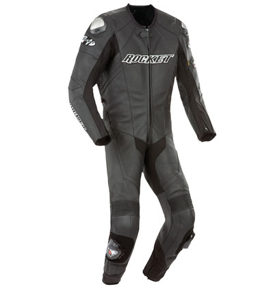 Joe-Rocket-Speedmaster-6-0-1-Piece-Black-Leather-Motorcycle-Race-Suit
