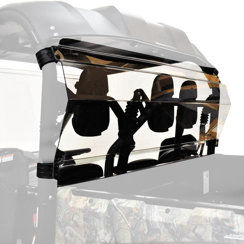 Rear Shield Back Panel Combo