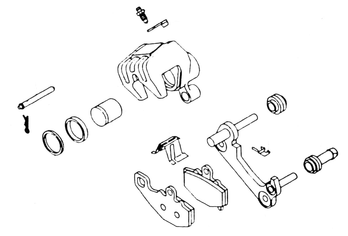 K & L Supply 32-0751 Front/Rear Caliper Rebuild Kit 7