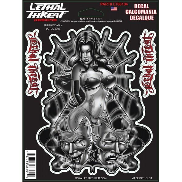 Spider Woman Decal
