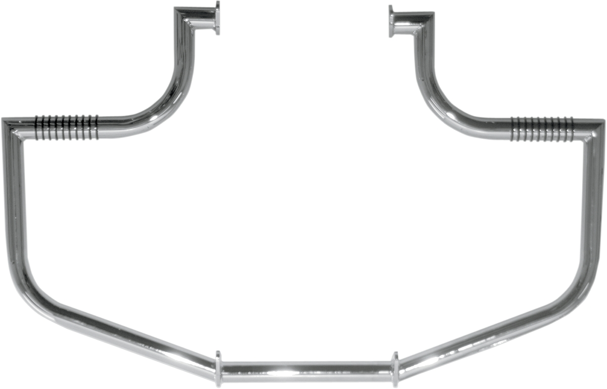 new lindby Linbar Highway Freeway Crash Bar Chrome 98-09
