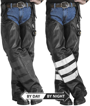 Black Ops Leather Chaps