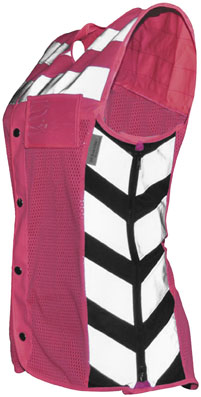 Women's Meshed Up Safety Vest
