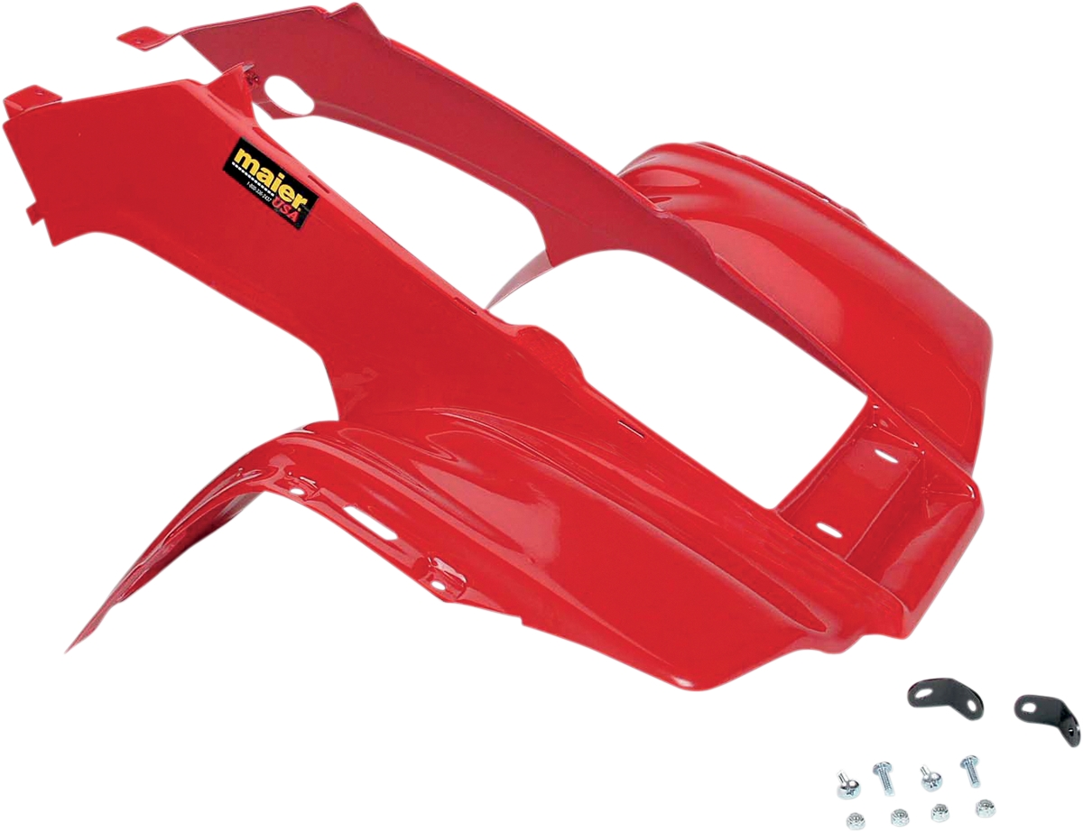Maier Mfg Fenders Red Front 119962