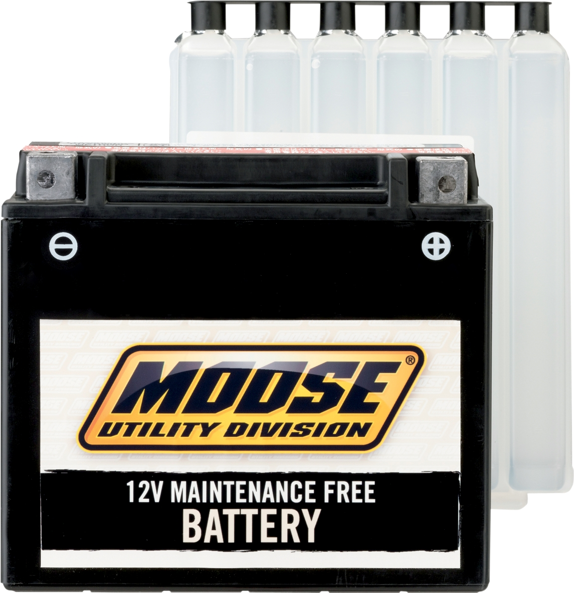 Moose Racing 2113-0238 AGM Maintenance-Free Battery YTX15L-BS