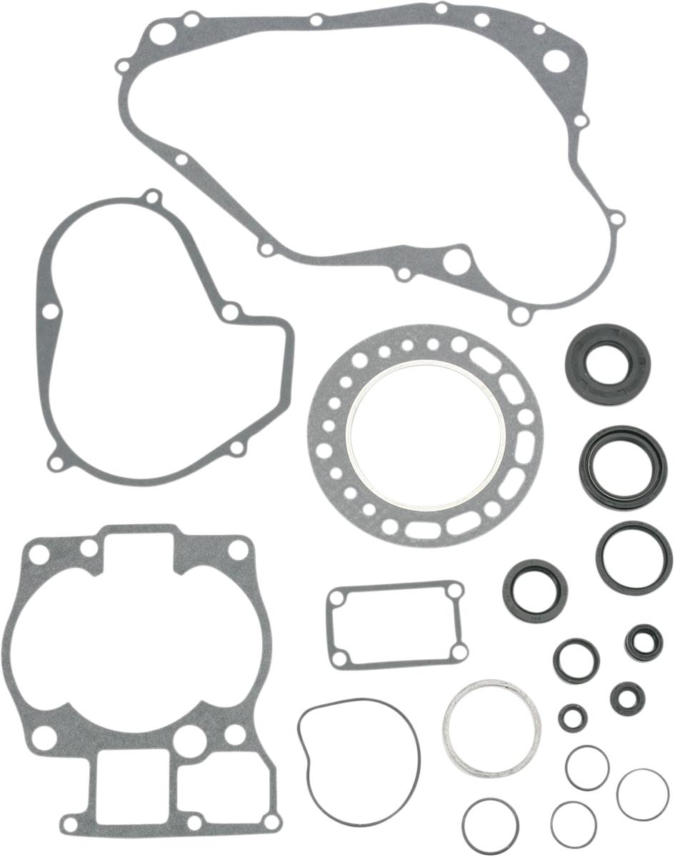 87 Suzuki LT500R Quad Racer Moose Complete Gasket Kit w//Oil Seals  811835