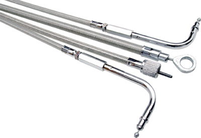 66-0280 Motion Pro Armor Coat Stainless Steel Throttle