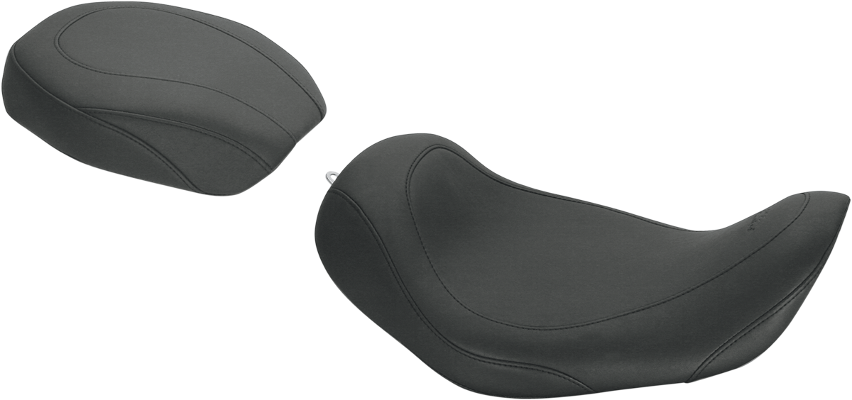 Mustang Wide Tripper Solo Front And Rear Seats Black Solo Rear Seat 75213