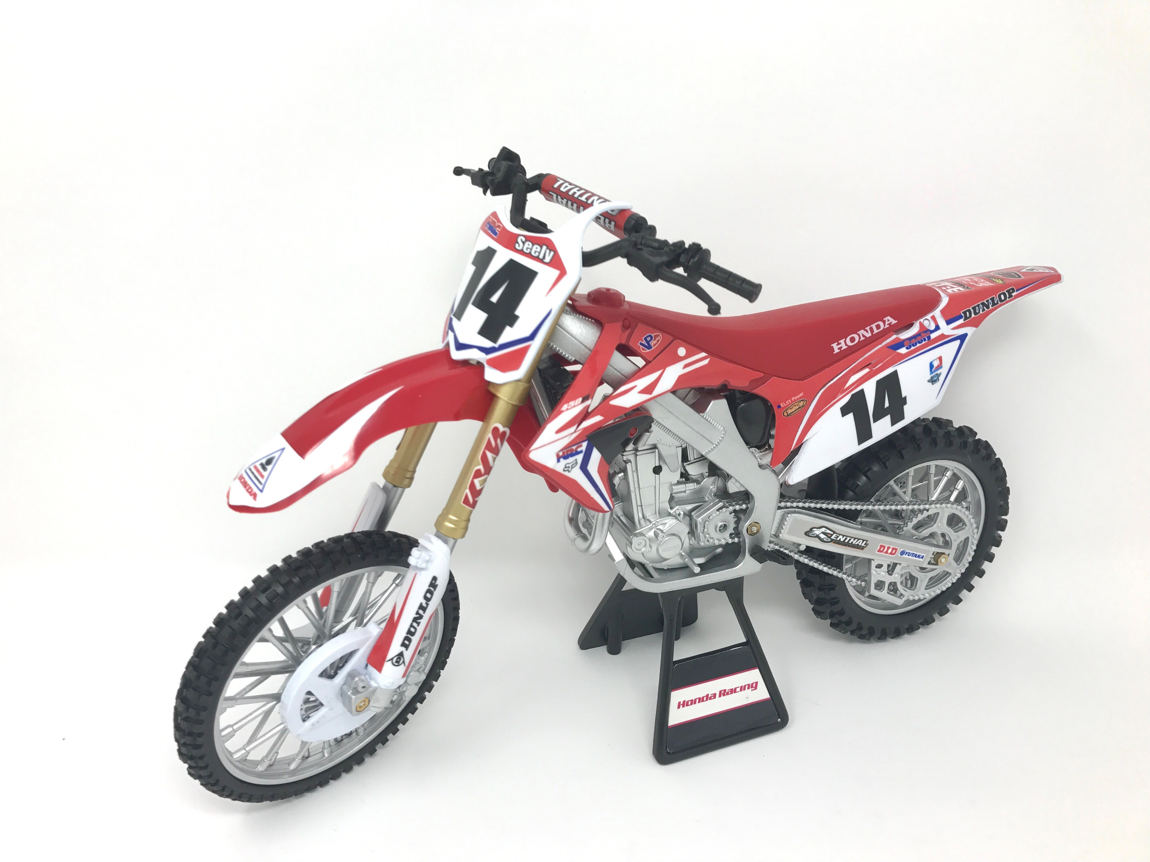 New Ray Nr Team Honda Hrc Crf450r 1 6 Cole Seely 49603 For Sale