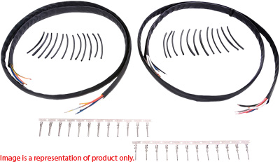 Novello Handlebar Wire Harness Extension Kit 20in NIL-WH20