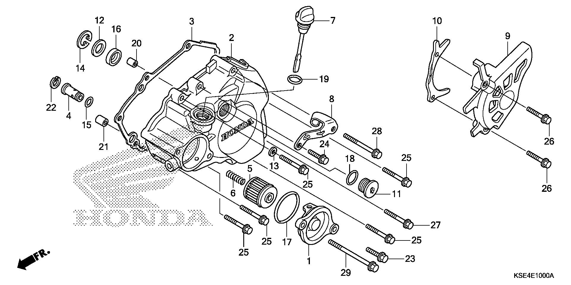 Honda Oem Part 15650