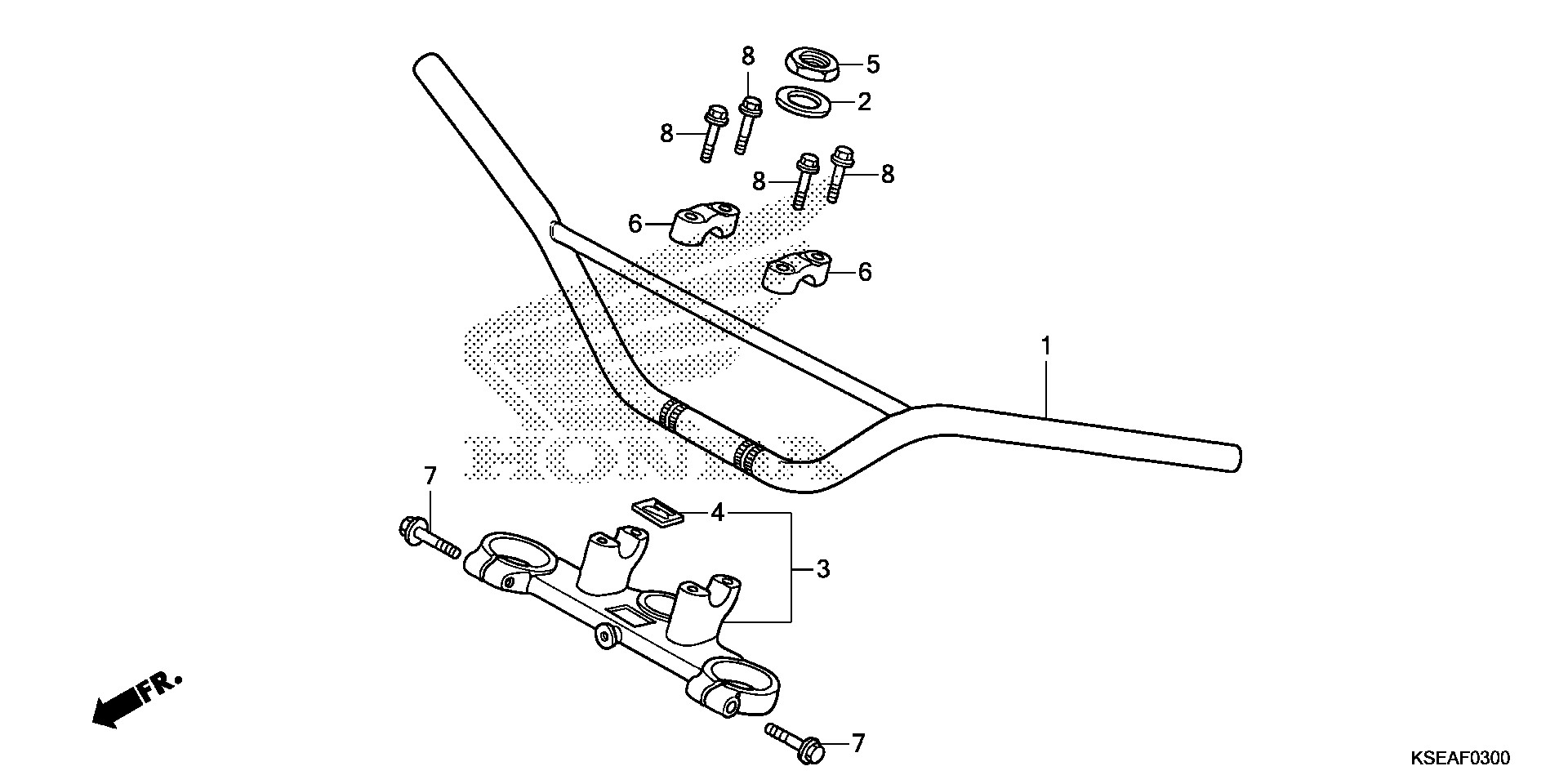 Genuine Toyota 87910-22820-12 Rear View Mirror Assembly