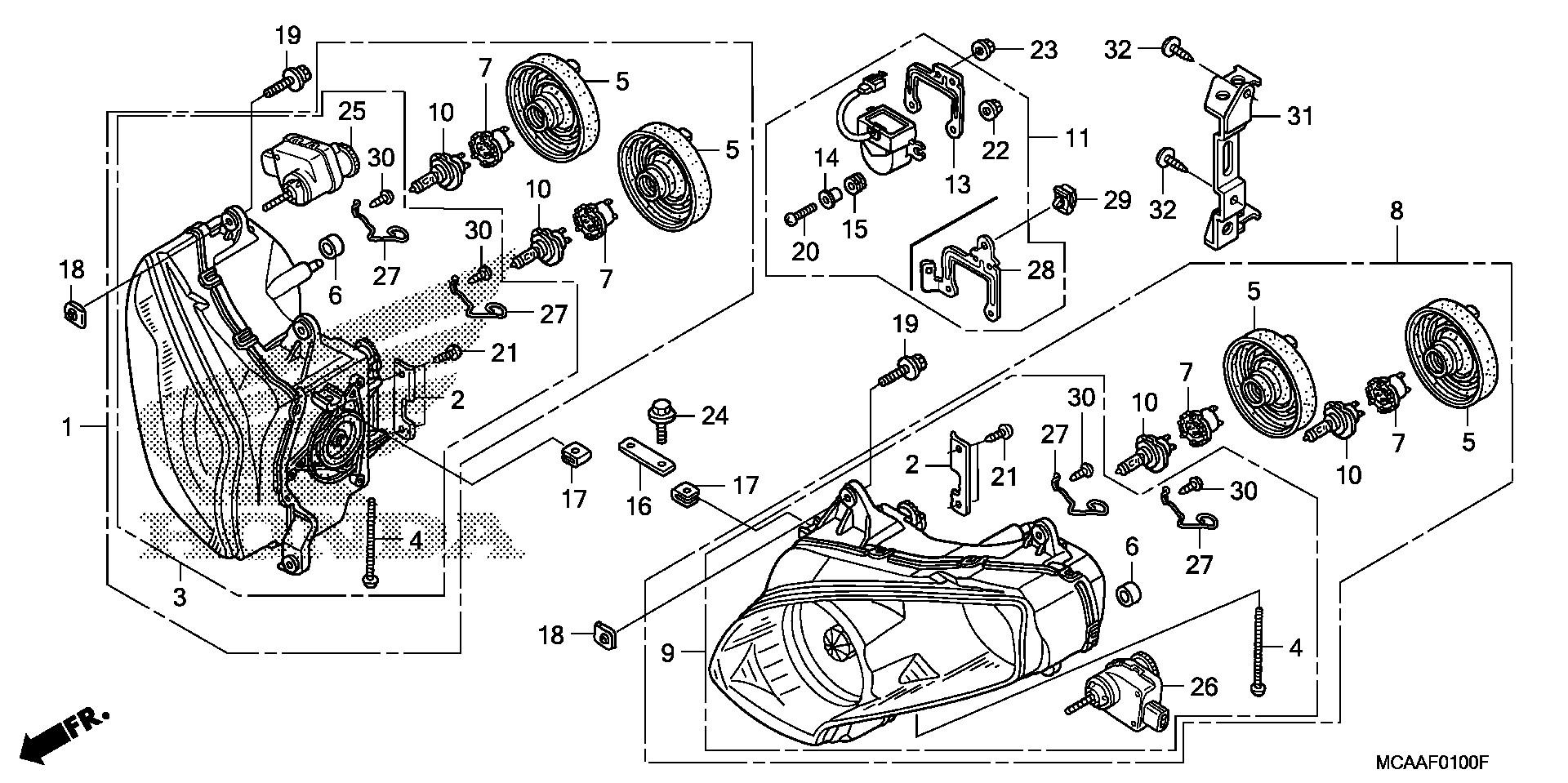 Honda Oem Part 33112
