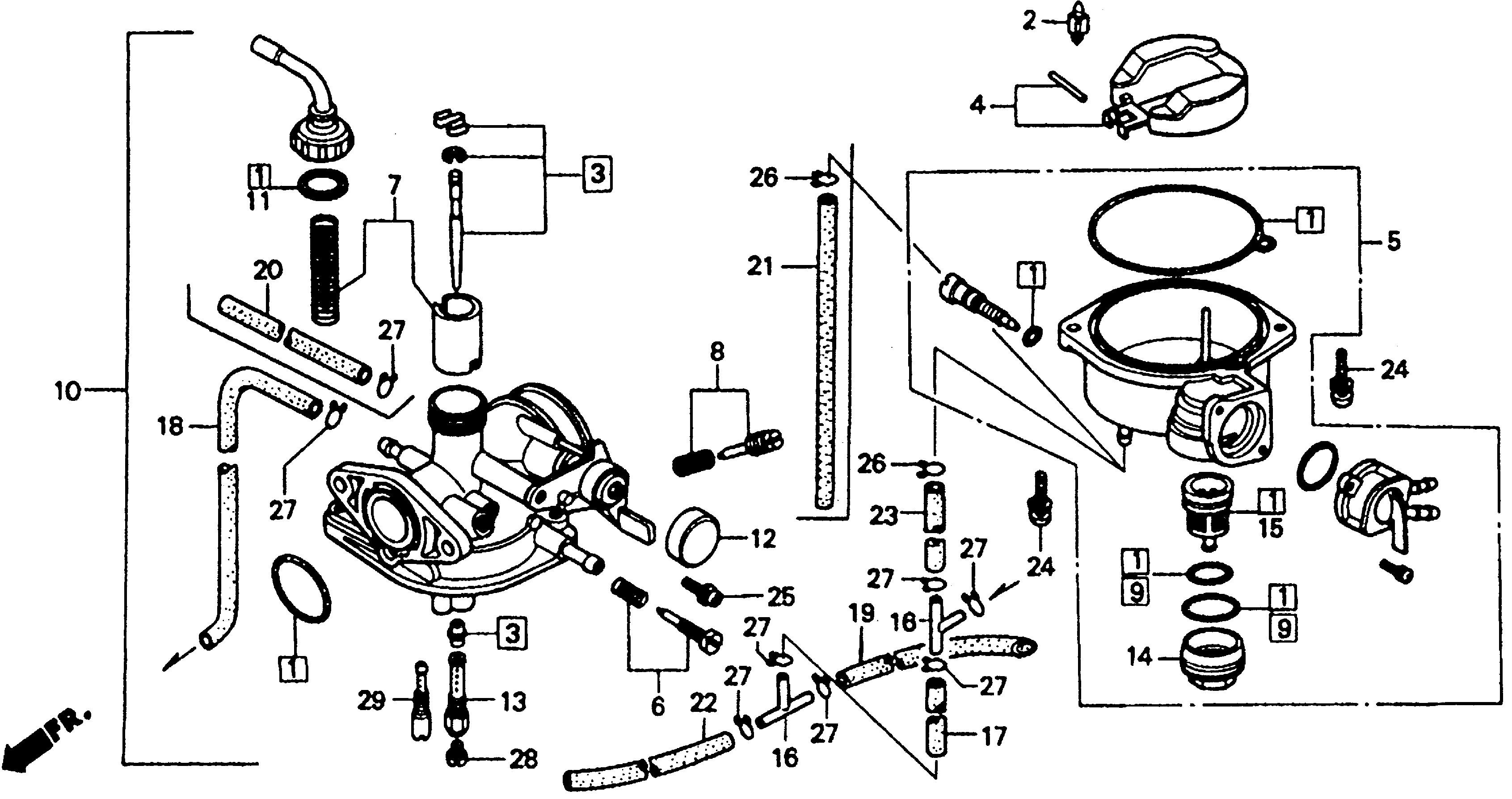 Honda OEM Part 16148-141-881 | eBay