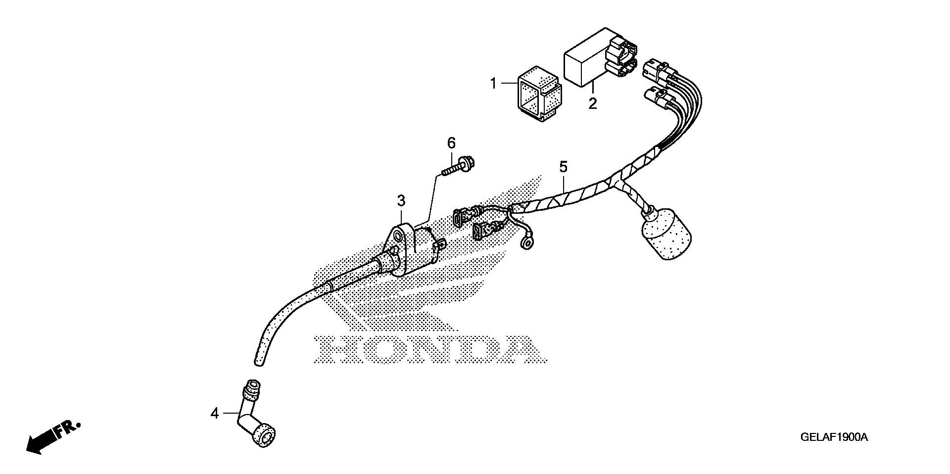 Honda Oem Part 30700