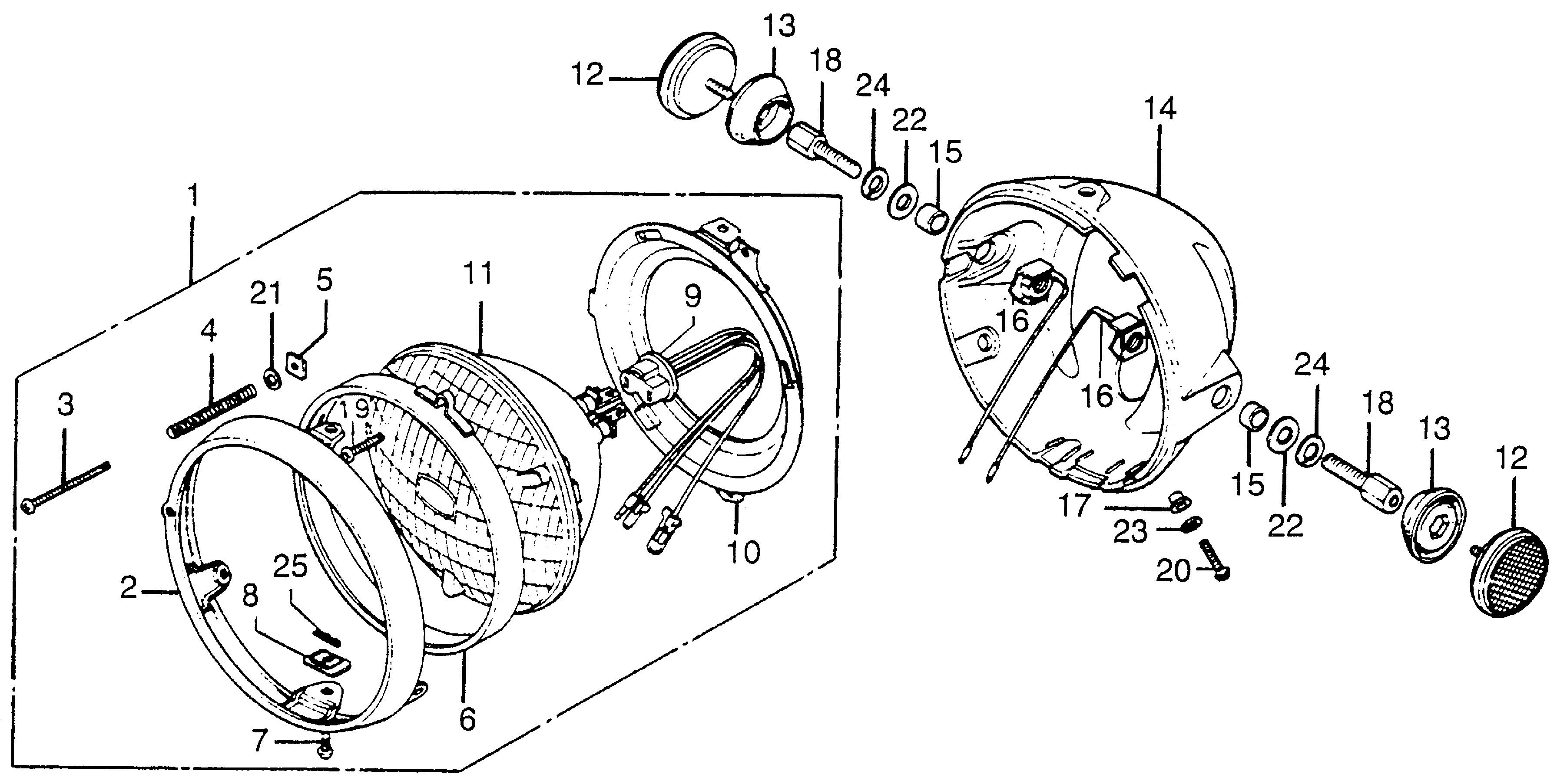 Diagram Of Honda Motorcycle Parts 2005 Rvt1000r A Alternator Diagram