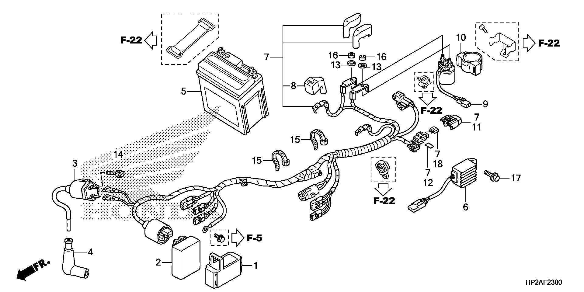Diagram Of Honda Atv Parts 2000 Trx90 A Wire Harness Diagram