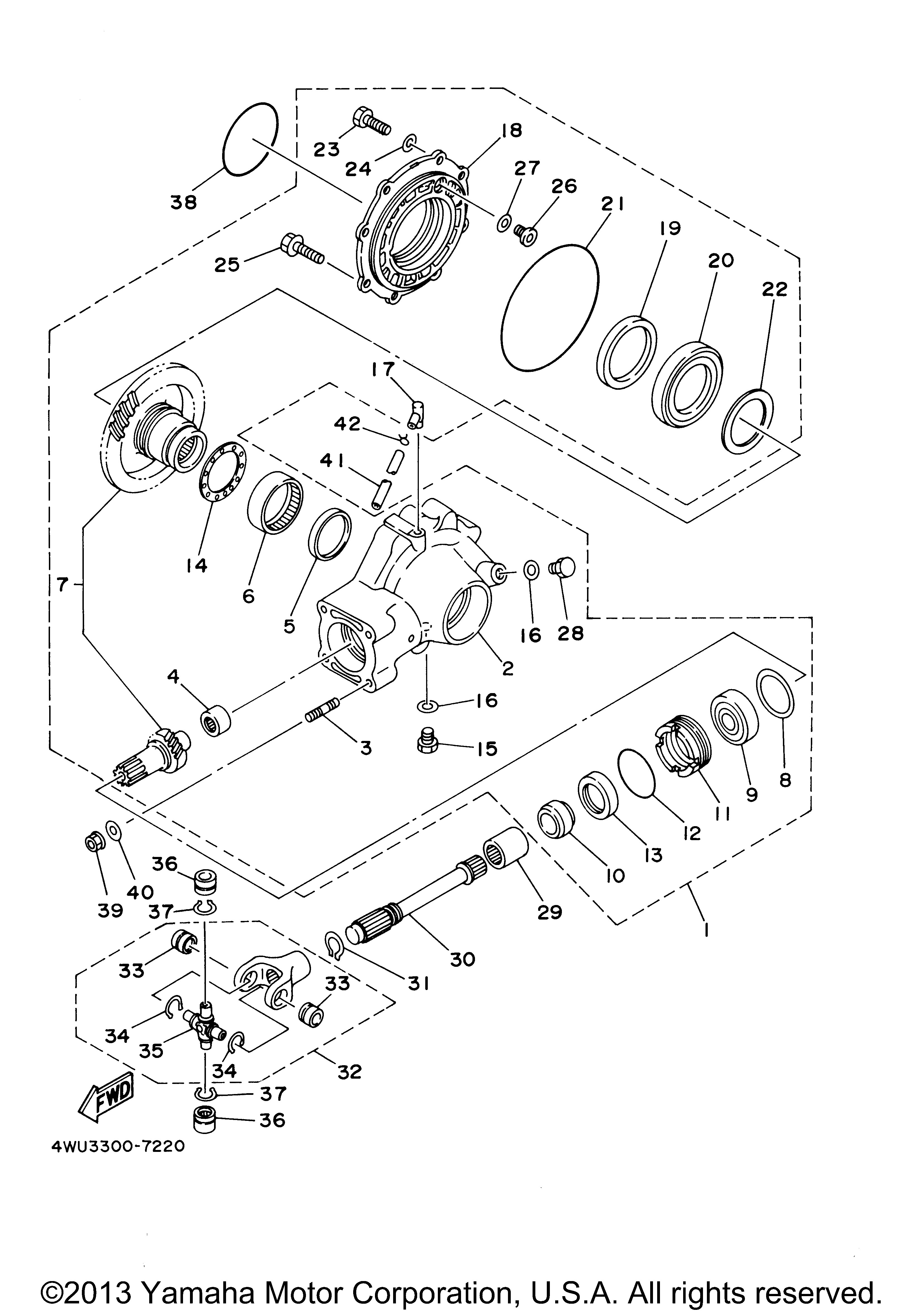 Yamaha OEM Part 90508-16460-00