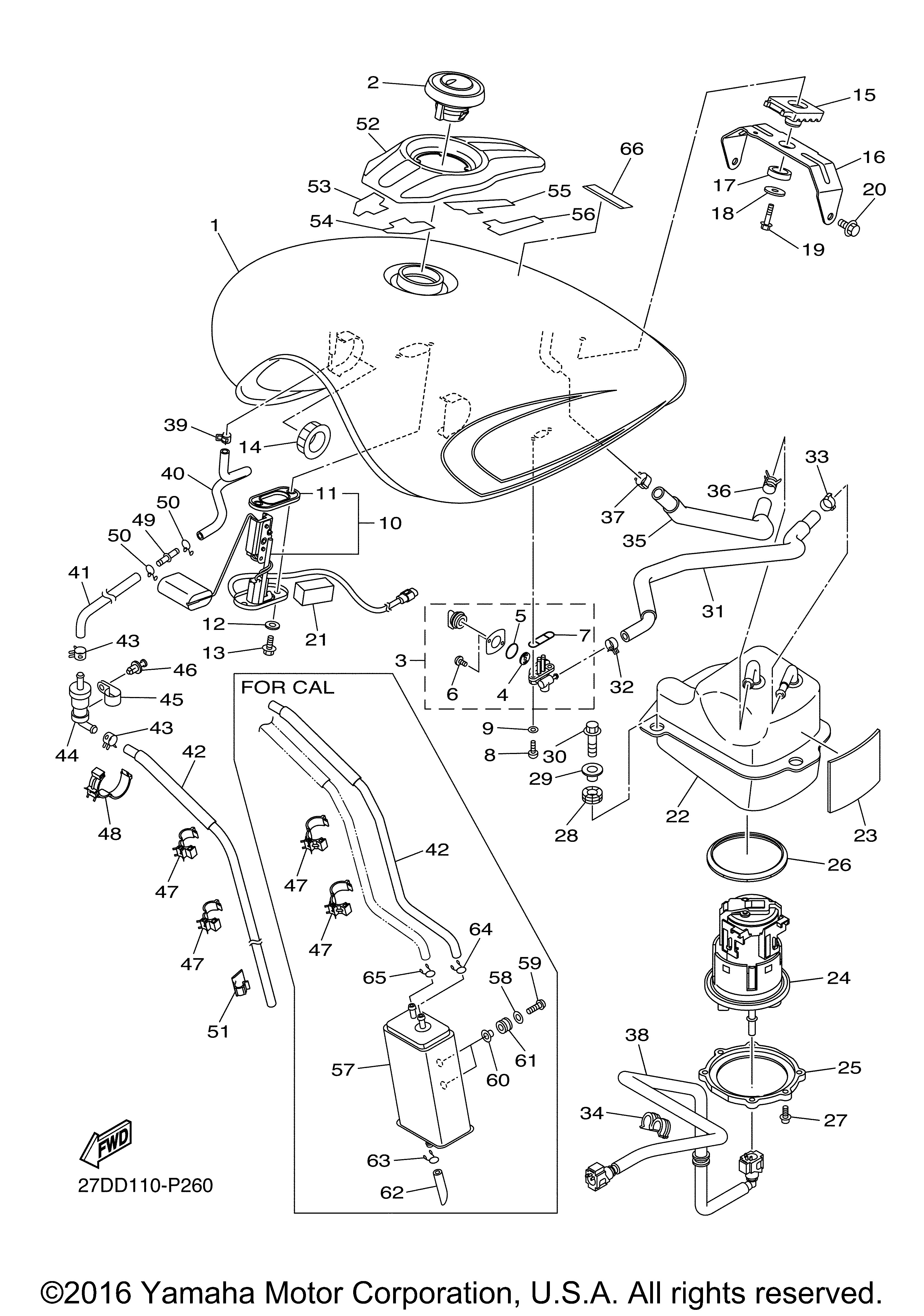 Yamaha 3D8-13907-01-00 Fuel Pump Complete; 3D8139070100 Made by Yamaha