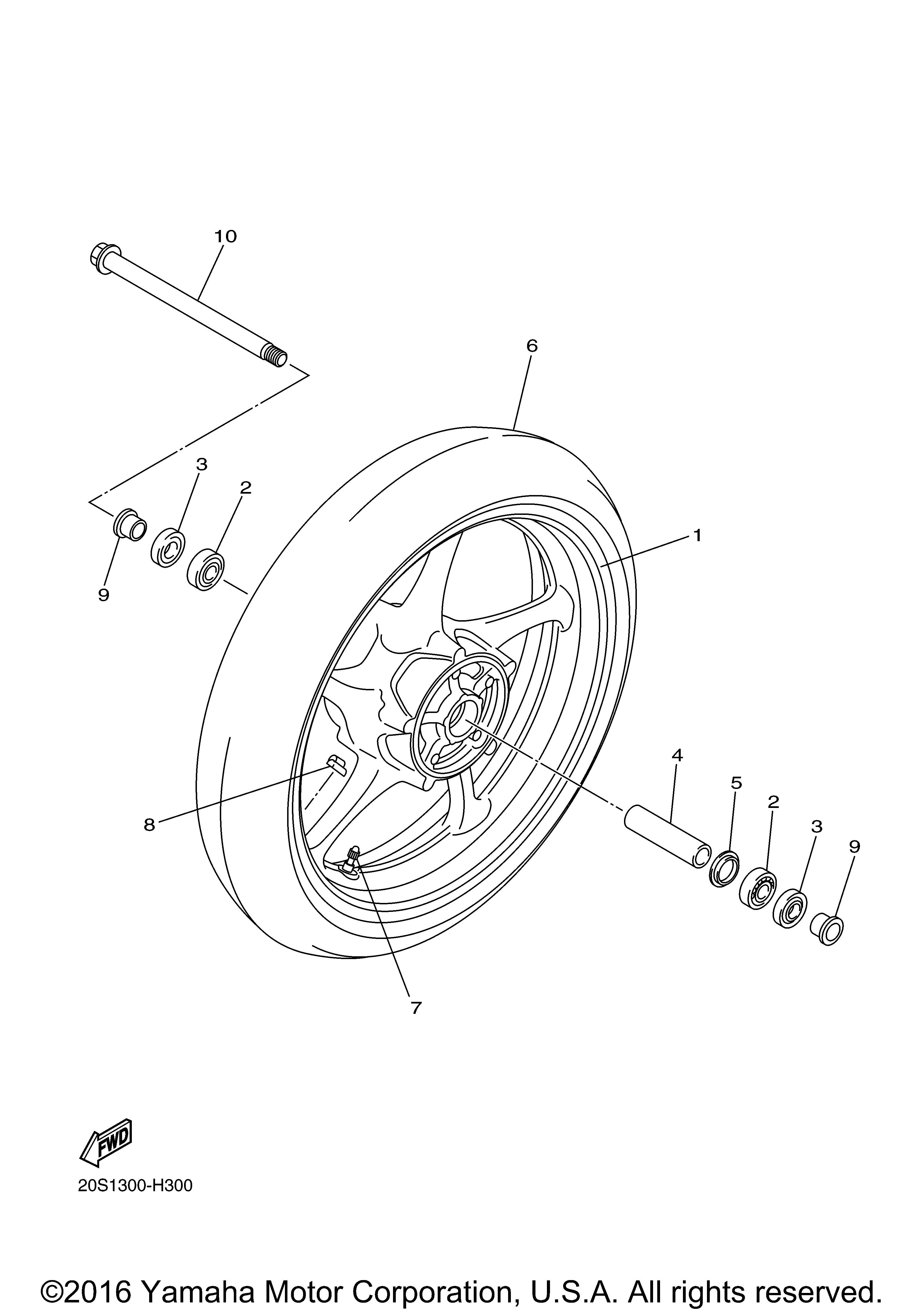 Yamaha OEM Part 91A20-05039-00
