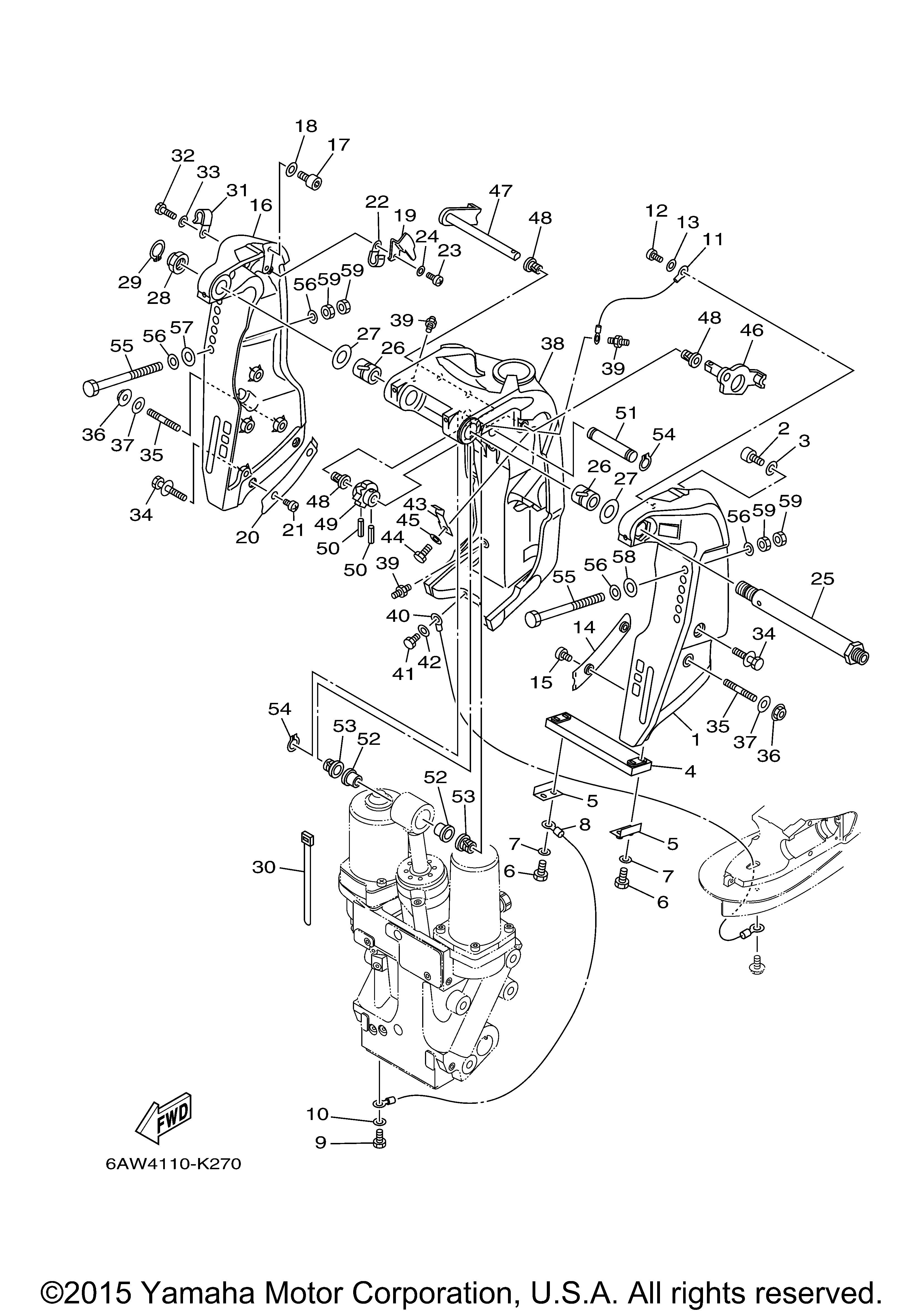 NEW OEM Yamaha 90201-12060-00 Washer Plate