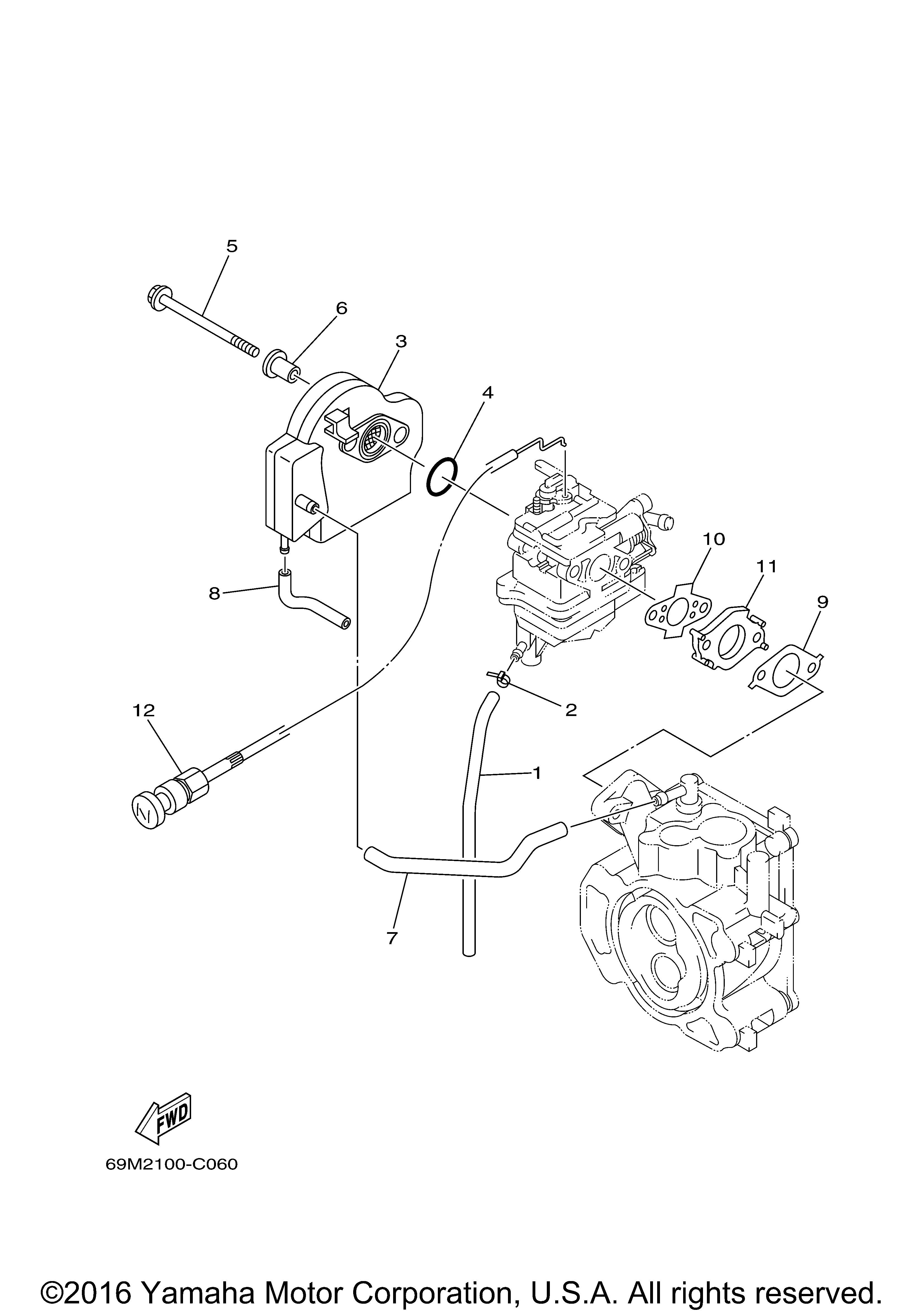 Yamaha OEM Part 69M-F6330-02-00