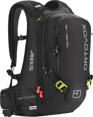 Avalanche Backpack Free Rider 26 ABS