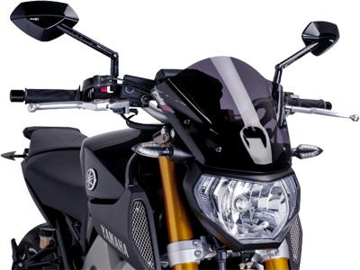 PUIG 7013F Naked Bike Windscreens Dark Smoke Sport