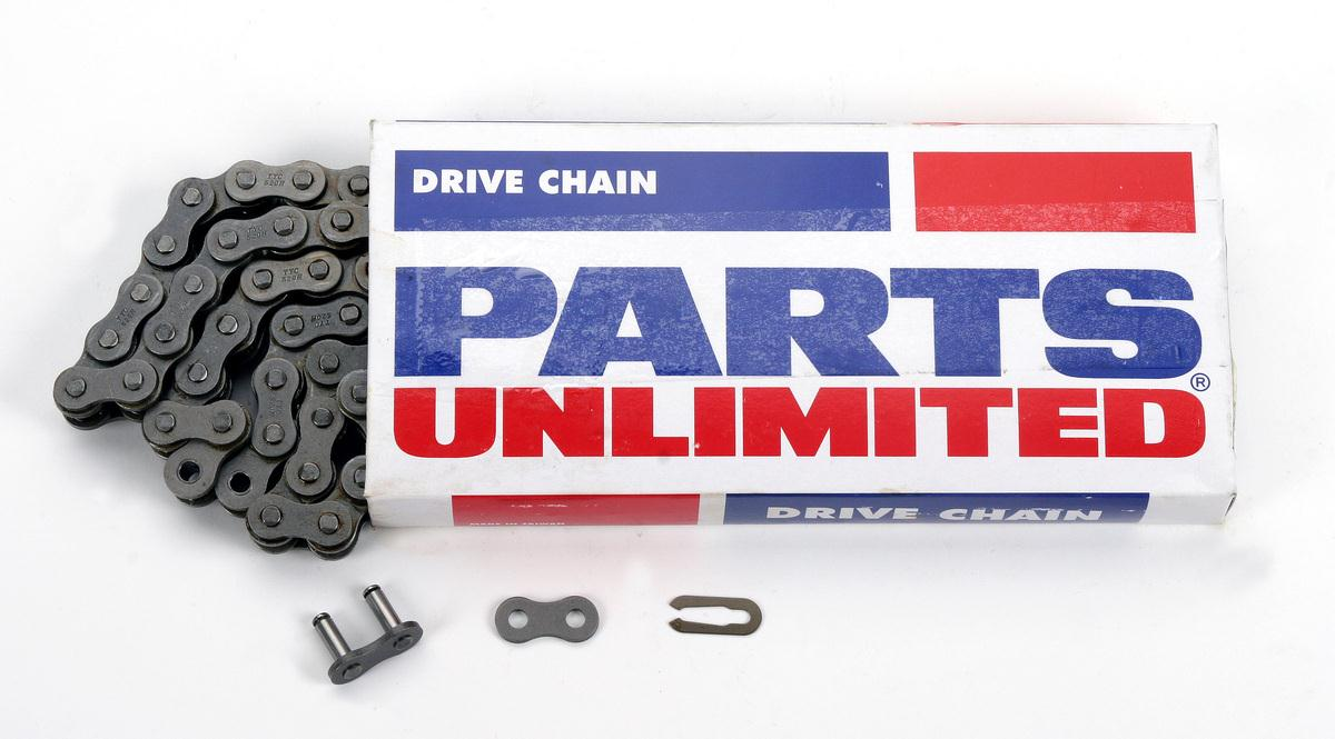 Parts Unlimited 530 x 104 Links Standard Series Non Oring Natural Drive Chain