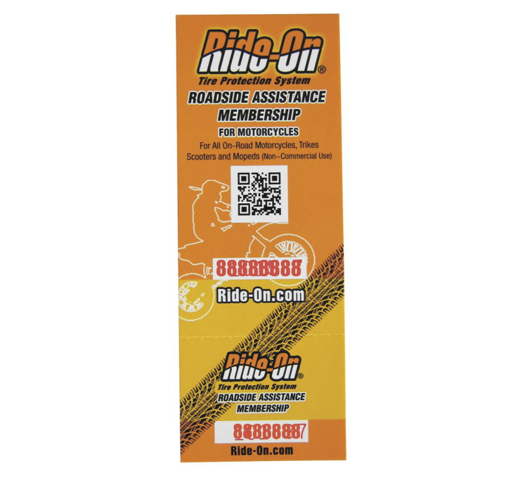 Roadside Assistance Card for Tire Coverage Plus 24